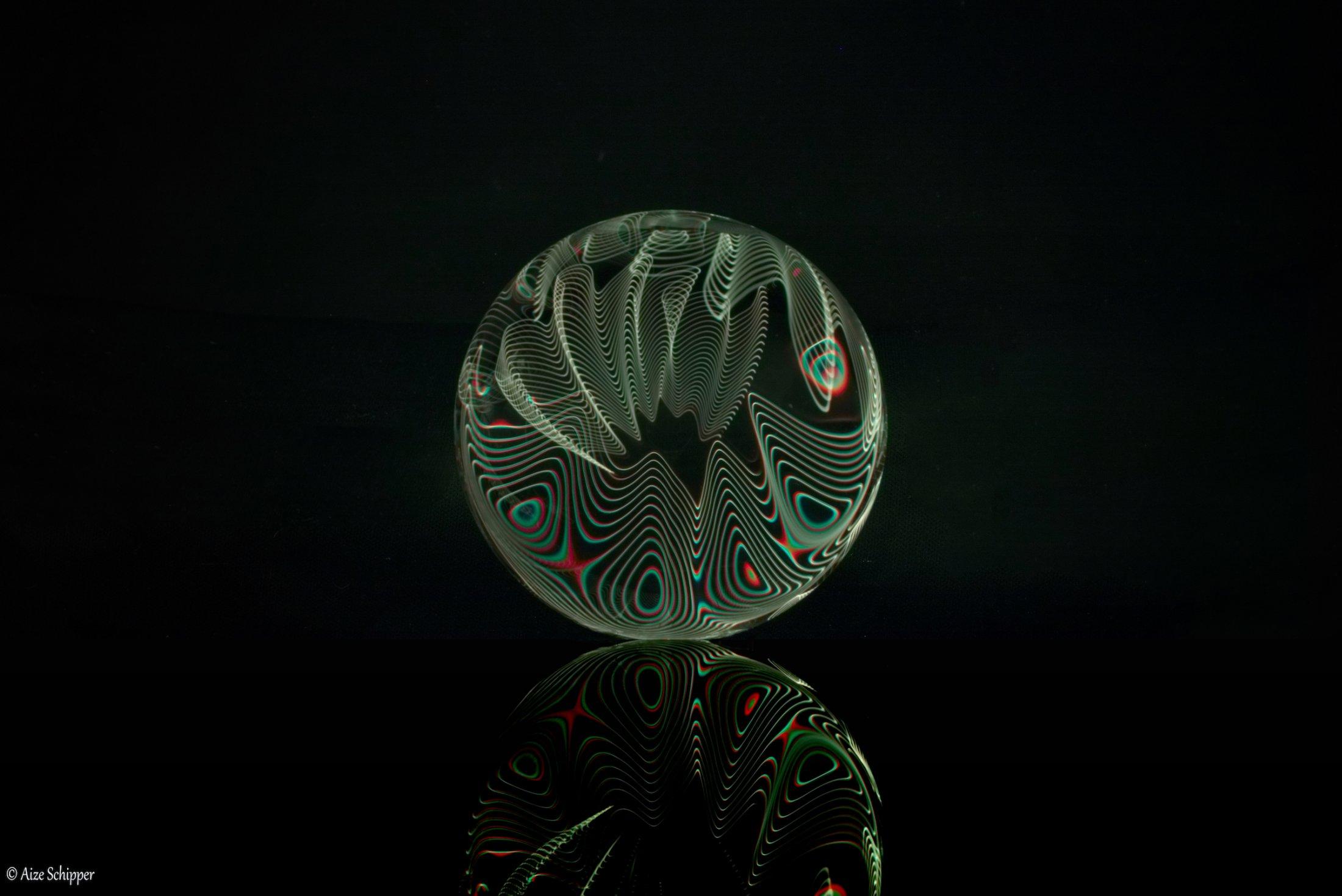 glazen bol reflect, 2018