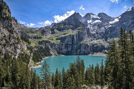 Zwitserland Oeschinersee, 2017