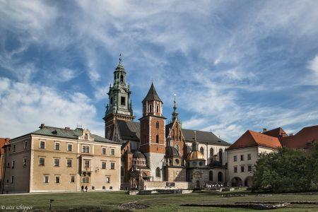 Krakau, Wawel kasteel, 2016