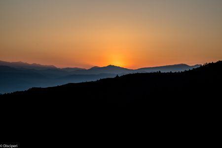 Zonsopkomst Himalaya (Nepal)