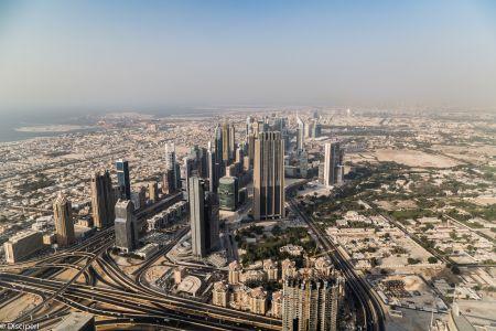 Dubai, vanaf de Burj Al Kalifa, 2014